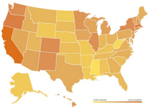Clean Energy Development: Where Does Your State Rank? | Lauri's Environment Scope | Scoop.it