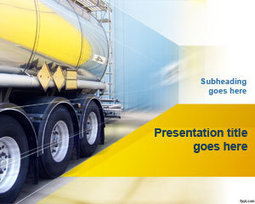 Free Truck Transport PowerPoint Template | Free  PowerPoint Templates | Scoop.it