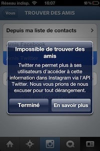 Twitter ne veut plus faire ami-ami avec Instagram | Toulouse networks | Scoop.it