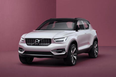 Volvo XC40 crossover concept revealed | Autocar | Sustainable transportation: SEAMless mobility - Shared, Electric, Autonomous (driverless), OMNImodal mobility | Scoop.it
