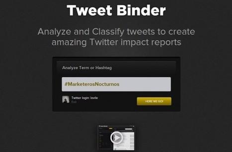 Tweet Binder, herramienta gratuita de seguimiento de palabras claves y hashtag | El Content Curator Semanal | Scoop.it