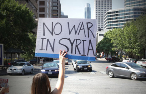 Groundswell on #Syria: The people versus AIPAC | News in english | Scoop.it