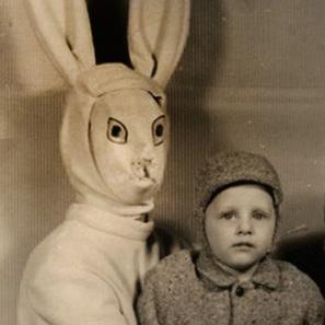 Quand le lapin de Pâques faisait peur sur les clichés du siècle dernier | CGMA Généalogie | Scoop.it