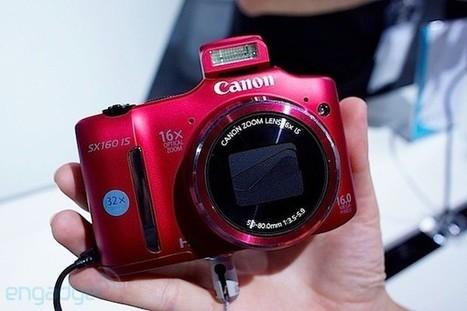 Photokina 2012 - Canon PowerShot SX 160 IS, un vistazo más de cerca (en vídeo) | Tecnología 2015 | Scoop.it