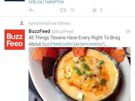 Twitter : bientôt des tweets d'inconnus dans les timelines ? | Geeks | Scoop.it