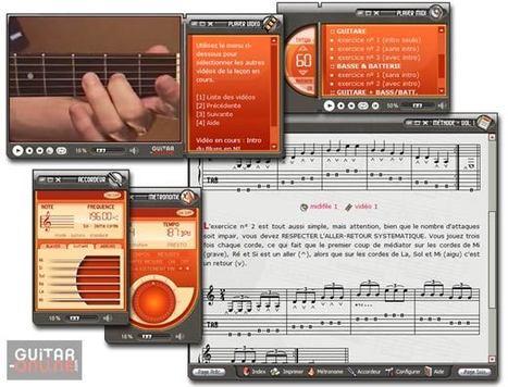 Méthodes de Guitare + Vidéo sur CD-ROM - Volume I | Apprendre la guitare et la musique avec des logiciels éducatifs | Scoop.it