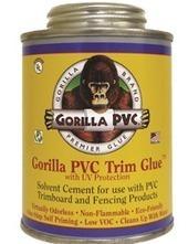 Gorilla PVC Trim Glue | Gorilla PVC Pipe Glue & Cement | Scoop.it