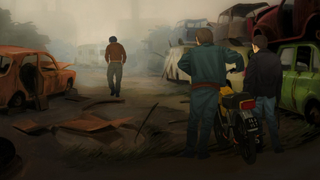'Junkyard' Blends Live Action, Painting and Digital 2D Animation | Animation | JMC Animation & Games | Scoop.it