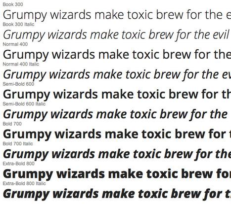 Google web fonts: Open source Sans een goed en gratis alternatief voor die vervelende Arial | BlokBoek e-zine | Scoop.it
