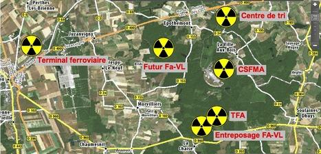 La poubelle de déchets nucléaires FA-VL revient à SOULAINES !   Le Côté Obscur du Nucléaire Français   Scoop.it