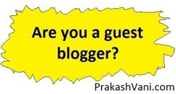 Select better Blogs for GuestPost | Blogging | Scoop.it