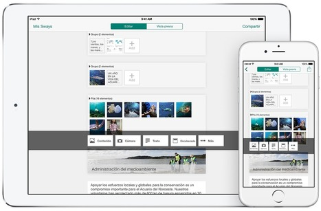 Bringing Sway apps to more platforms and devices | Technology Tools for School | Scoop.it