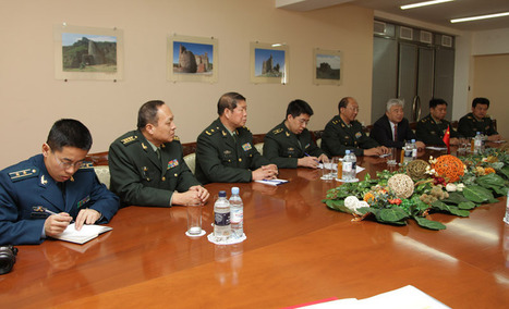Armenia, China Sign Military Cooperation Agreement | Development studies and int'l cooperation | Scoop.it