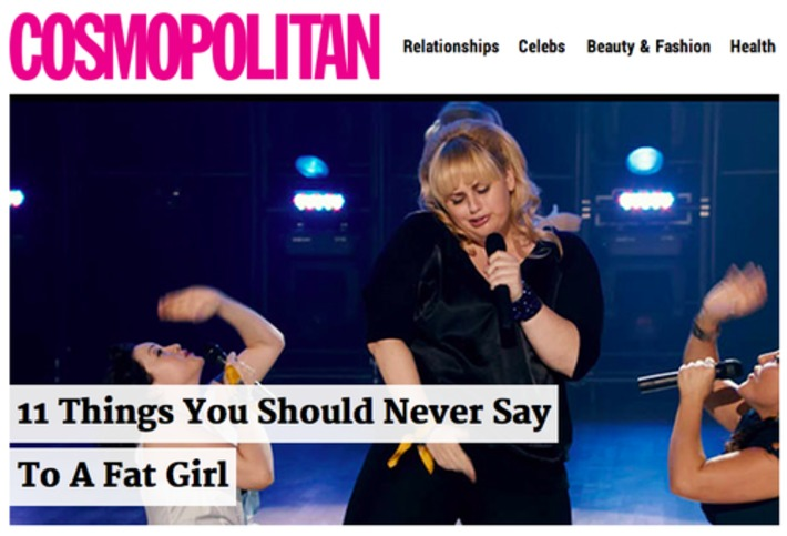 11 Things You Should Never Say To A Fat Girl   Herstory   Scoop.it