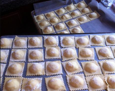 Pear and Pecorino Ravioli | Le Marche and Food | Scoop.it
