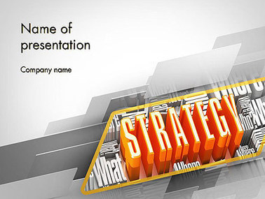 Strategy Theme Presentation Template | Presentation Templates | Scoop.it