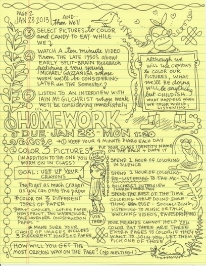 Join Cartoonist Lynda Barry for a University-Level Course on Doodling and Neuroscience | Share Some Love Today | Scoop.it