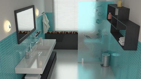 15 Turquoise Interior Bathroom Design Ideas   Home Design Lover   In the World of Design   Scoop.it