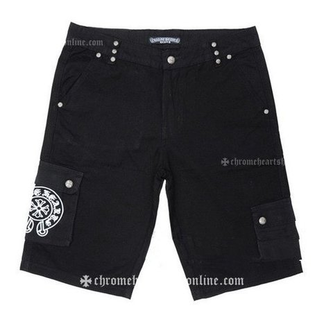 Mens Chrome Hearts Black Embroidery Shorts On Sale [Chrome Hearts Jeans] - $192.00 : Chrome Hearts Sale | Chrome Hearts Shop Online | Boutique | Scoop.it