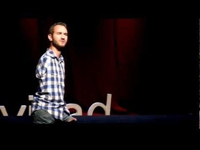 Overcoming hopelessness - Nick Vujicic at TEDxNovi | Invest In You | Scoop.it