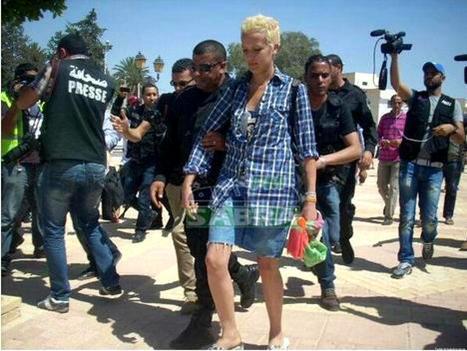 Tunisie : la Femen Amina obtient un non-lieu pour faits d'outrages mais reste en détention | Emancipation de la femme | Scoop.it
