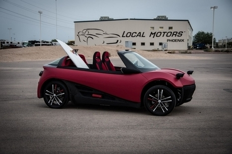 LM3D : vers une voiture de série électrique imprimée en 3D | 694028 | Scoop.it