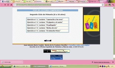 Test de Lectura Comprensiva   Test Velocidad Lectora Online, Marcela Basualto   Scoop.it