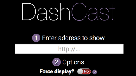 DashCast Streams Dashboard-Style Web Pages To Your Chromecast | Chromecast | Scoop.it