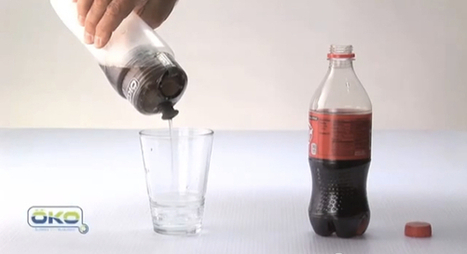 OKO filtration bottle can convert coke into crystal clear liquid | Science, Technology, and Current Futurism | Scoop.it