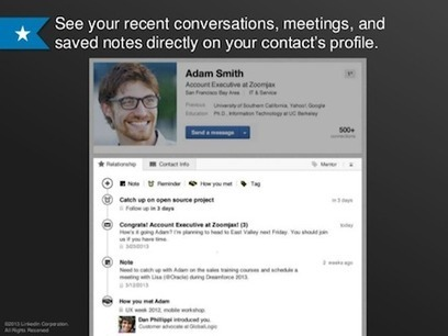 LinkedIn Contacts App: This Week in Social Media | Social Media Examiner | Social Media Magic | Scoop.it