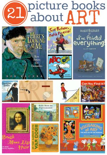 21 Picture Books About Art | plasticando | Scoop.it