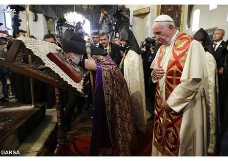 Pápež počas cesty v Arménsku tvítuje o úsilí o jednotu kresťanov | Správy Výveska | Scoop.it