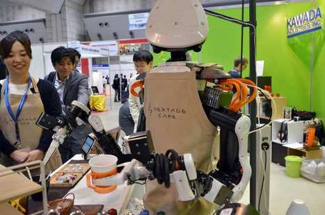 At Japan Robot Week, mechanical barista treats visitors to coffee | Coffee News | Scoop.it