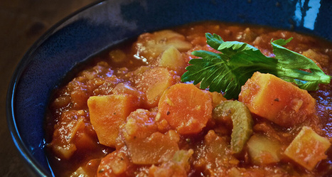 Hearty Vegetable Stew - Forks Over Knives | Vegan Food | Scoop.it