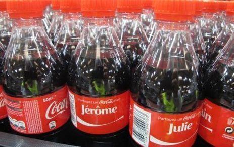 Des bouteilles de Coca à votre nom   Branding News & best practices   Scoop.it