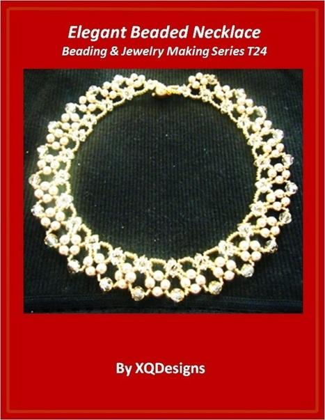 Elegant Beaded Necklace Jewelry Making Tutorial - DIY Beading Club | Dyi | Scoop.it