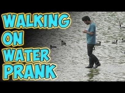 Walking on Water Prank | emarketad | Scoop.it