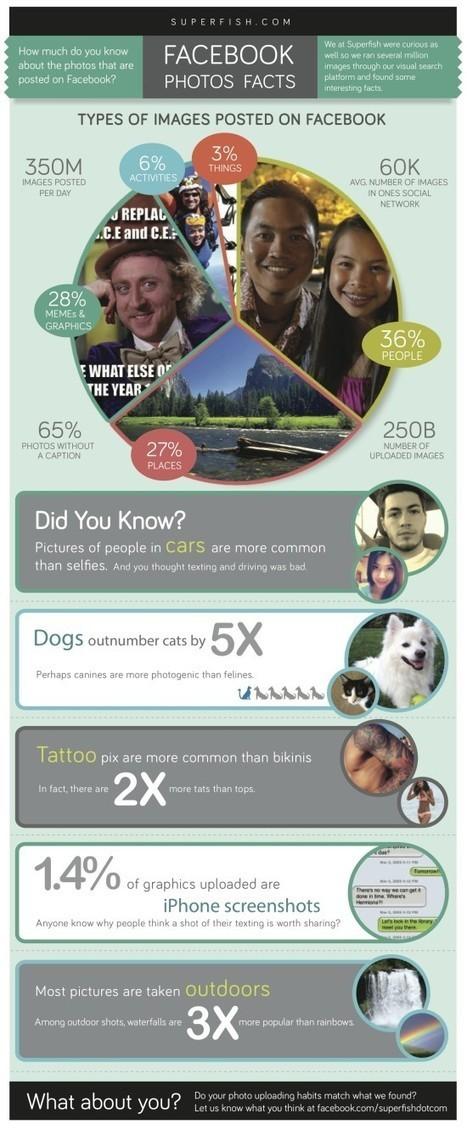 [infographie] Quelles images sont partagées sur Facebook ? | Tools for journalists | Scoop.it