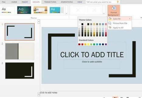 Photography Template for PowerPoint Online | Free Microsoft Office Templates | Scoop.it