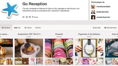 Pinterest, source d'inspiration pour l'événementiel | Organisation d'evenements professionnels France | Scoop.it