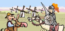 ::: El Caballero Don Quijote : La Aventura de los Molinos :::   Recursos Primaria   Scoop.it