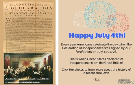 Celebrate 4th of July in Style with buncee! - Buncee Blog | Buncee Creative | Scoop.it
