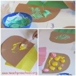 Fun with puffy paint and cupcakes in preschool | Trabalhos Manuais no Jardim de Infância | Scoop.it