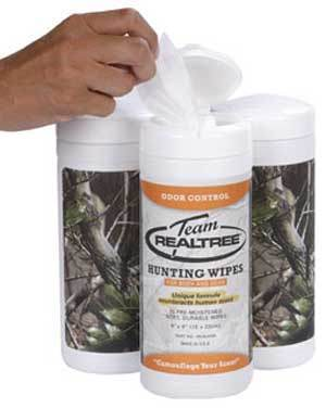 Camouflage Your Scent with Team Realtree Hunting Wipes | Camouflage $ | Scoop.it