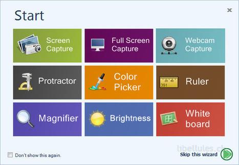 iWesoft Free Screenshot Capture - un logiciel de de capture en image ou petite vidéo avec editeur (sympa) | le manchot rôti | Scoop.it