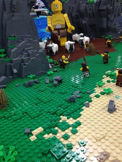 """Homer's """"The Odyssey"""" is Epic in LEGO Form 