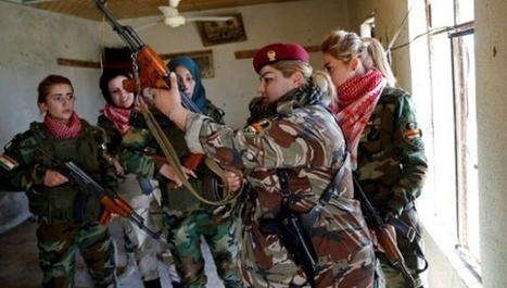 Kurdish, Yazidi and Arab Women United in Fight Against ISIS   Global politics   Scoop.it