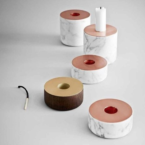 Chunk Candle Holder by Menu   Shut up and take my money!   Scoop.it