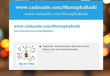 CashUnite – A Revolutionary New Way To Earn Money From Your Social Networks!   Engineer Automation   Barkinet   Scoop.it