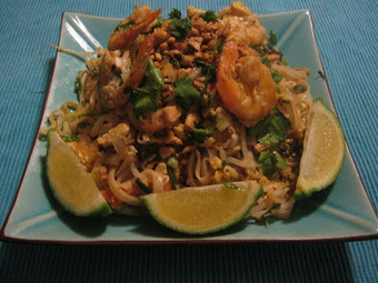 In My's kitchen: Kuaytiaw pad thai - Nouilles thai sautées aux crevettes | asian food trends | Scoop.it